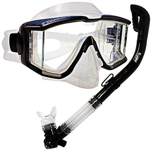最も優遇 シュノーケリング マリンスポーツ Snorkeling Scuba Dive DRY Dive Snorkel Side-View Purge Scuba Purge Mask Diving Gear, Trans.Blackシュノーケリング マリンスポーツ, こまき5金:8c3a2c29 --- slope-antenna.xyz