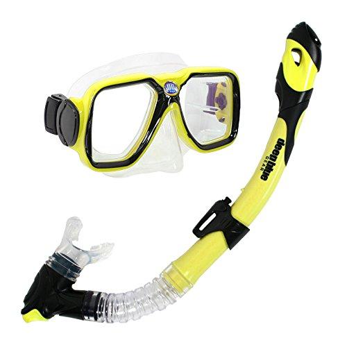 人気の春夏 シュノーケリング マリンスポーツ DBG-CK-2550-YL Deep Set, Blue Dry Deep Gear Maui Ultra Dry Diving Mask and Dry Snorkel Set, Adult, Yellowシュノーケリング マリンスポーツ DBG-CK-2550-YL, PLAYFUL:83aef529 --- canoncity.azurewebsites.net