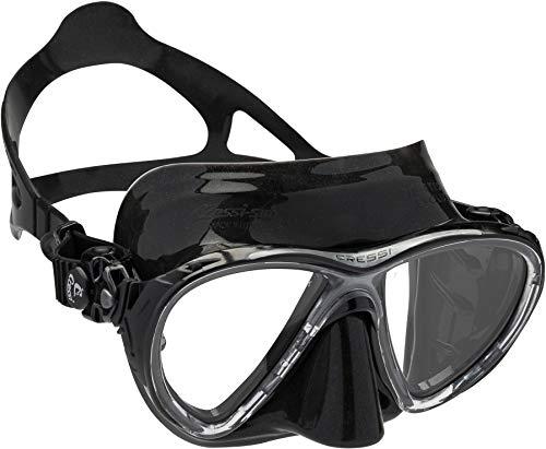シュノーケリング マリンスポーツ DS336550 【送料無料】Cressi Big Eyes Evolution, black/blackシュノーケリング マリンスポーツ DS336550