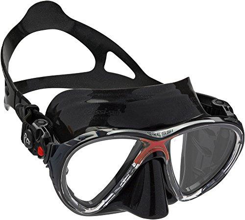 シュノーケリング マリンスポーツ DS336580 【送料無料】Cressi Big Eyes Evolution Mask Black Redシュノーケリング マリンスポーツ DS336580