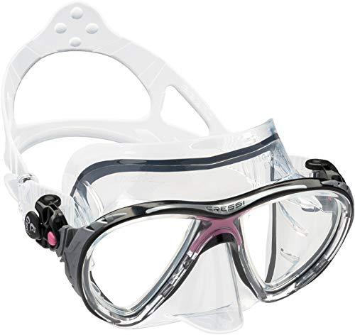シュノーケリング マリンスポーツ DS336040 【送料無料】Cressi Big Eyes Evolution, clear/pinkシュノーケリング マリンスポーツ DS336040