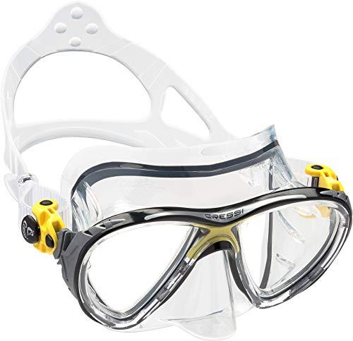シュノーケリング マリンスポーツ DS336010 Cressi Big Eyes Evolution, clear/yellowシュノーケリング マリンスポーツ DS336010