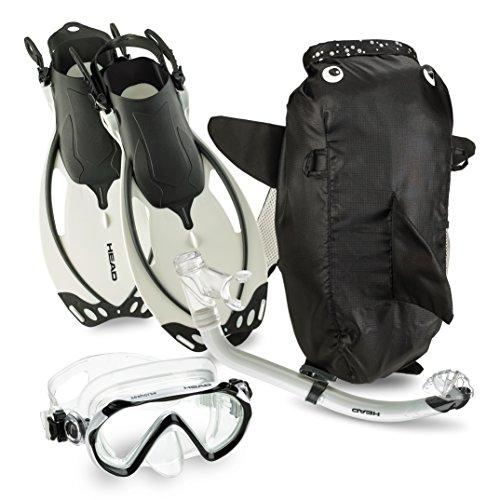 シュノーケリング マリンスポーツ Mares Explorer Mask Fin Snorkel Set Adult, BL- 3.5/4.5シュノーケリング マリンスポーツ