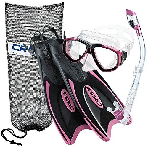 シュノーケリング マリンスポーツ CRSPLAFSS PK-ML Cressi Palau Long Fins, Pink, M/L | (Men's 7-10) (Women's 8-11)シュノーケリング マリンスポーツ CRSPLAFSS PK-ML