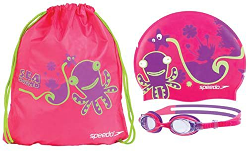 シュノーケリング マリンスポーツ Speedo Sea Squad Pool Pack Pinkシュノーケリング マリンスポーツ