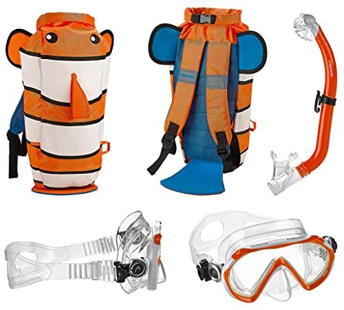 シュノーケリング マリンスポーツ Head by Mares Mask Fin Snorkel Set - Medium/Largeシュノーケリング マリンスポーツ