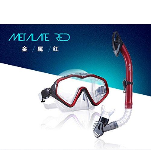 【テレビで話題】 シュノーケリング マリンスポーツ Wide View Diving Mask Dry Snorkel Setシュノーケリング マリンスポーツ, 信濃屋 5ac5abf3