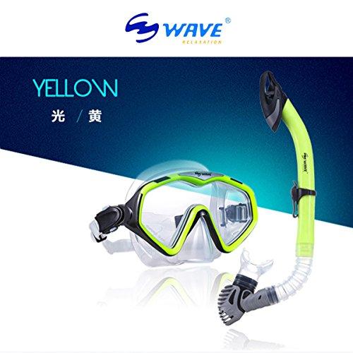シュノーケリング マリンスポーツ Wide View Diving Mask Dry Snorkel Setシュノーケリング マリンスポーツ