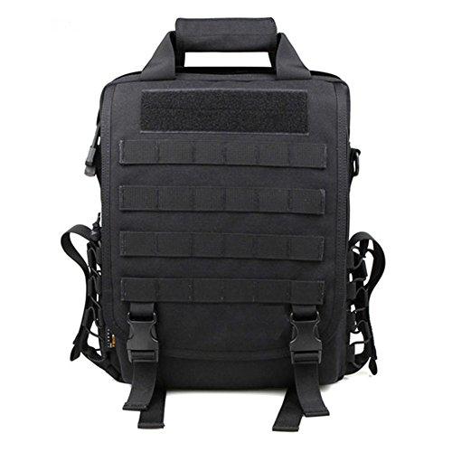 ミリタリーバックパック タクティカルバックパック サバイバルゲーム サバゲー アメリカ Military Tactical 14Laptop Computer Carrying Case Backpack Sling Shoulder Bag (Blミリタリーバックパック タクティカルバックパック サバイバルゲーム サバゲー アメリカ