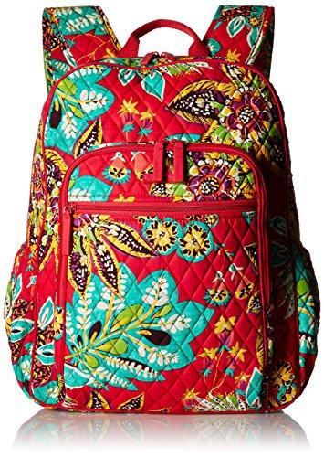 ヴェラブラッドリー ベラブラッドリー アメリカ フロリダ州マイアミ 日本未発売 18198 Women's Campus Tech Backpack, Signature Cotton, Rumbaヴェラブラッドリー ベラブラッドリー アメリカ フロリダ州マイアミ 日本未発売 18198