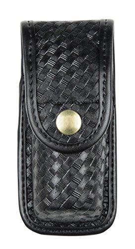 タクティカルポーチ ミリタリーポーチ サバイバルゲーム サバゲー アメリカ 1017308 Bianchi AccuMold Elite 7907 Brass Snap Oc Spray Pouch (Basketweave Black, Small)タクティカルポーチ ミリタリーポーチ サバイバルゲーム サバゲー アメリカ 1017308