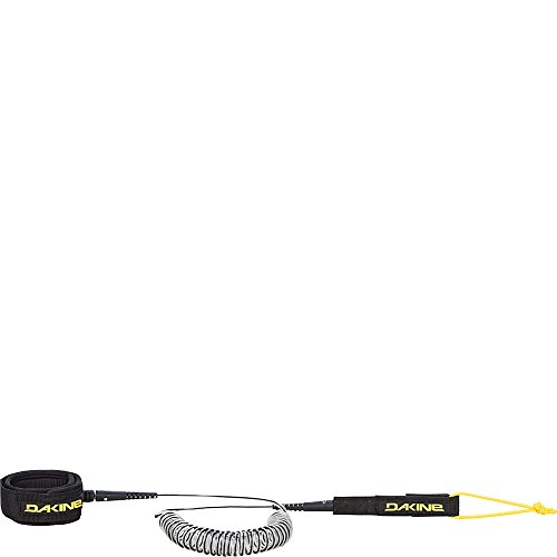 リーシュコード スタンドアップパドルボード マリンスポーツ サップボード SUPボード DAKINE Dakine Unisex SUP 10' x 5/16'' Coiled Ankle Surf Leash, Black, OSリーシュコード スタンドアップパドルボード マリンスポーツ サップボード SUPボード DAKINE