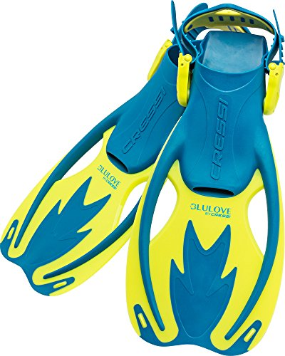 シュノーケリング マリンスポーツ USF020202B Cressi Rocks fins, cool blue, S/Mシュノーケリング マリンスポーツ USF020202B