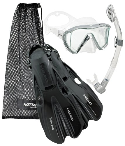シュノーケリング マリンスポーツ 【送料無料】Head Manta Mask Fin Snorkel Set, Metallic Silver - SMシュノーケリング マリンスポーツ