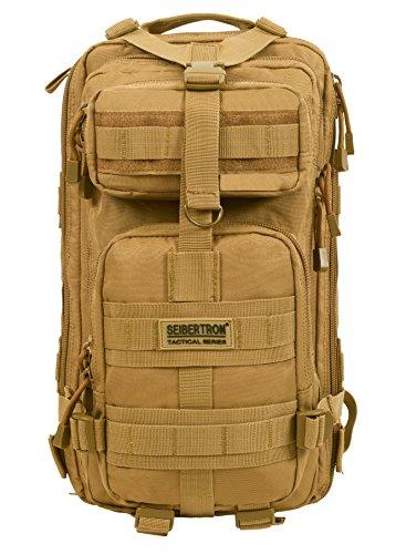 ミリタリーバックパック タクティカルバックパック サバイバルゲーム サバゲー アメリカ Seibertron Falcon Water Repellent Hiking Camping Backpack Compact Pack Summit Bag (Kミリタリーバックパック タクティカルバックパック サバイバルゲーム サバゲー アメリカ