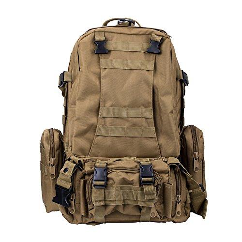ミリタリーバックパック タクティカルバックパック サバイバルゲーム サバゲー アメリカ Basecamp Military Assault Tactical Backpack - 50L Outdoor Large Tactical Rucksack Baミリタリーバックパック タクティカルバックパック サバイバルゲーム サバゲー アメリカ