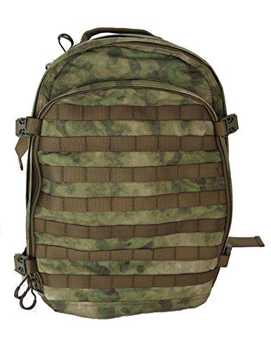 ミリタリーバックパック タクティカルバックパック サバイバルゲーム サバゲー アメリカ Hank's Surplus Military Style Molle Travel Hiking Camping Multi Day Backpack (A-TACSミリタリーバックパック タクティカルバックパック サバイバルゲーム サバゲー アメリカ