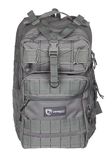 ミリタリーバックパック タクティカルバックパック サバイバルゲーム サバゲー アメリカ DRG14-308GY Drago Gear Atlus Sling Backpack, Greyミリタリーバックパック タクティカルバックパック サバイバルゲーム サバゲー アメリカ DRG14-308GY