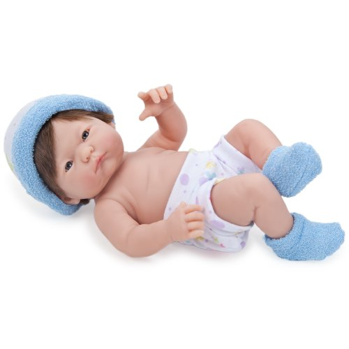 ジェーシートイズ 赤ちゃん おままごと ベビー人形 18406_D JC Toys Mini La Newborn Baby Doll, Blueジェーシートイズ 赤ちゃん おままごと ベビー人形 18406_D