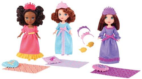 ちいさなプリンセス ソフィア ディズニージュニア BDH62 Disney Sofia The First Royal Sleepover Doll 3-Packちいさなプリンセス ソフィア ディズニージュニア BDH62