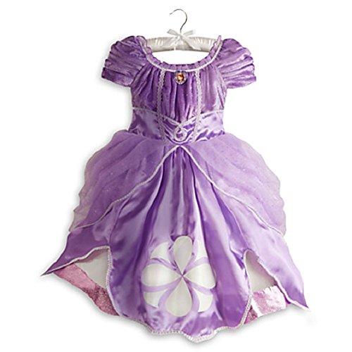 ちいさなプリンセス ソフィア ディズニージュニア Disney Sofia the First Dress Costume for Girls Small 5 / 6 Sophiaちいさなプリンセス ソフィア ディズニージュニア