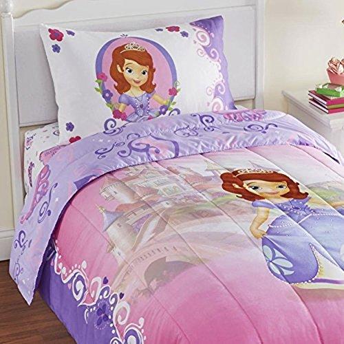ちいさなプリンセス ソフィア ディズニージュニア 3891079 4pc Sofia the First Twin Bedding Set Disney Princess in Training Comforter and Sheet Setちいさなプリンセス ソフィア ディズニージュニア 3891079