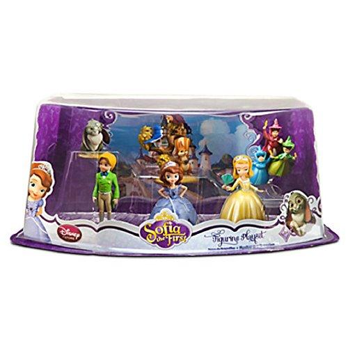 ちいさなプリンセス ソフィア ディズニージュニア 【送料無料】Disney Sofia the First Exclusive 6 Piece PVC Figurine Setちいさなプリンセス ソフィア ディズニージュニア