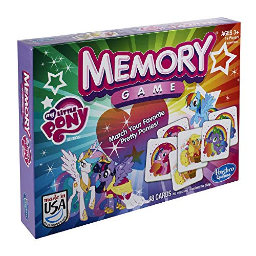 マイリトルポニー ハズブロ hasbro、おしゃれなポニー かわいいポニー ゆめかわいい 【送料無料】Hasbro My Little Pony Memory Gameマイリトルポニー ハズブロ hasbro、おしゃれなポニー かわいいポニー ゆめかわいい