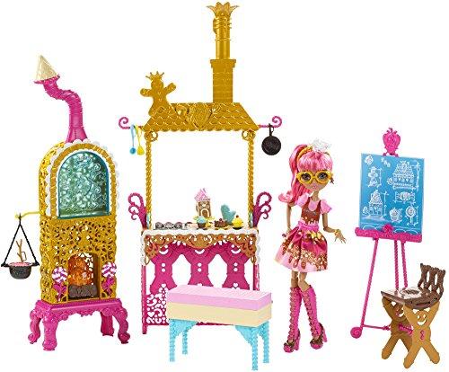 エバーアフターハイ 人形 ドール CHX83 Ever After High Sugar Coated Kitchen with Ginger Breadhouse Doll Play Setエバーアフターハイ 人形 ドール CHX83