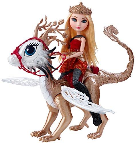 エバーアフターハイ 人形 ドール DKM76 Ever After High Dragon Games Apple White Doll and Braebyrn Dragonエバーアフターハイ 人形 ドール DKM76