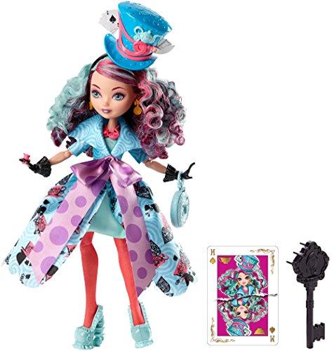 エバーアフターハイ 人形 ドール CJF40 【送料無料】Ever After High Way Too Wonderland Madeline Hatter Dollエバーアフターハイ 人形 ドール CJF40