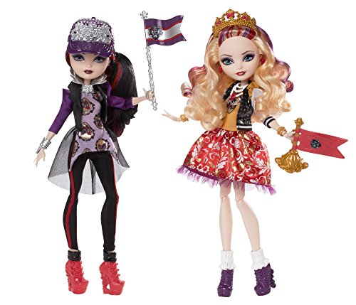 エバーアフターハイ 人形 ドール CJF67 Ever After High School Spirit Apple White and Raven Queen Doll (2-Pack)(Discontinued by manufacturer)エバーアフターハイ 人形 ドール CJF67