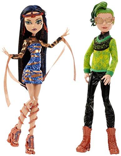 モンスターハイ 人形 ドール CHW60 Monster High Boo York, Boo York Comet-Crossed Couple Cleo de Nile and Deuce Gorgon Doll, 2-Pack (Discontinued by manufacturer)モンスターハイ 人形 ドール CHW60