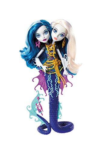 モンスターハイ 人形 ドール DHB47 【送料無料】Monster High Great Scarrier Reef Peri & Pearl Serpintine Dollモンスターハイ 人形 ドール DHB47