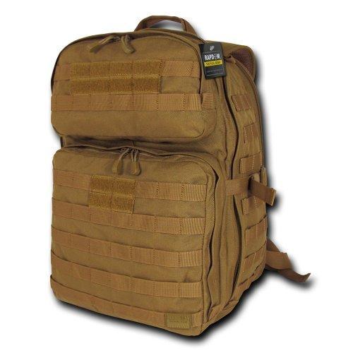 ミリタリーバックパック タクティカルバックパック サバイバルゲーム サバゲー アメリカ T303-COY RAPDOM Tactical Lethal 24 1 Day Assault Pack, Coyoteミリタリーバックパック タクティカルバックパック サバイバルゲーム サバゲー アメリカ T303-COY