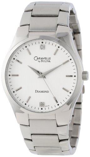 ブローバ 腕時計 メンズ 43D105 Caravelle by Bulova Men's 43D105 Round Bracelet Watchブローバ 腕時計 メンズ 43D105