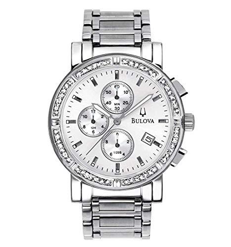 ブローバ 腕時計 メンズ 【送料無料】Bulova Men's Diamond Chronograph Watch 96E03ブローバ 腕時計 メンズ