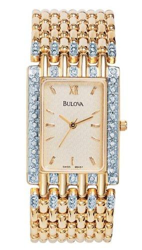 腕時計 ブローバ メンズ 98A57 【送料無料】Bulova Crystal Men's Watch 98A57腕時計 ブローバ メンズ 98A57