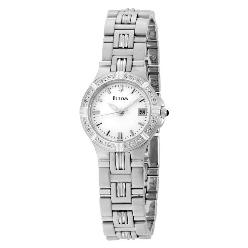 ブローバ 腕時計 レディース 96R04 【送料無料】Bulova Women's 96R04 Diamond Accented Watchブローバ 腕時計 レディース 96R04