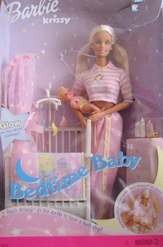 バービー バービー人形 チェルシー スキッパー ステイシー 56616 Barbie & Krissy - Bedtime Baby W/ Musical Crib (2000)バービー バービー人形 チェルシー スキッパー ステイシー 56616