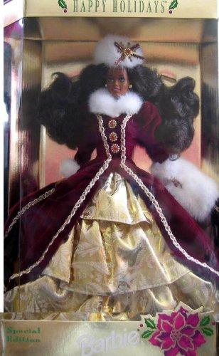 バービー バービー人形 日本未発売 ホリデーバービー 15647 【送料無料】1996 African American Happy Holidays Barbieバービー バービー人形 日本未発売 ホリデーバービー 15647