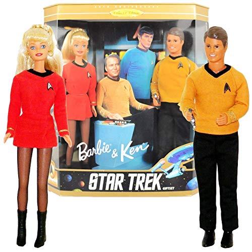 バービー バービー人形 バービーコレクター コレクタブルバービー プラチナレーベル 074299150067 Barbie & Ken Star Trek Giftset (30th Anniversary Collector Editionバービー バービー人形 バービーコレクター コレクタブルバービー プラチナレーベル 074299150067