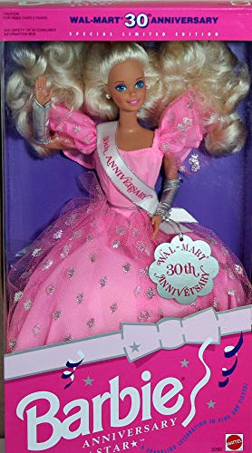 バービー バービー人形 バービーコレクター コレクタブルバービー プラチナレーベル #2282 【送料無料】Barbie Anniversary Star Doll Wal-Mart 30th Anniversary Specialバービー バービー人形 バービーコレクター コレクタブルバービー プラチナレーベル #2282