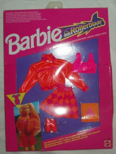 バービー バービー人形 着せ替え 衣装 ドレス 4852 Barbie ROLLERBLADE Fashion #4852 (1991)バービー バービー人形 着せ替え 衣装 ドレス 4852