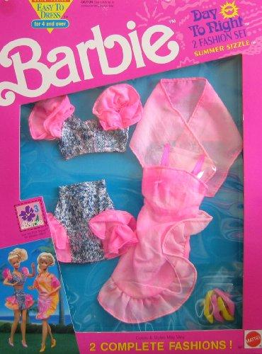バービー バービー人形 着せ替え 衣装 ドレス 667 Barbie Day To Night Fashions SUMMER SIZZLE 2 Fashion Set - Easy To Dress (1991 Arco Toys, Mattel)バービー バービー人形 着せ替え 衣装 ドレス 667