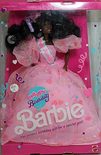 【送料込】 バービー バービー人形 日本未発売 バースデーバービー バースデーウィッシュ #9561 Happy Birthday Barbie - Barbie African American - #9561 - 1990バービー バービー人形 日本未発売 バースデーバービー バースデーウィッシュ, TAKANNA:7b70aef2 --- canoncity.azurewebsites.net