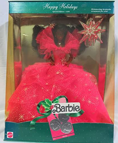 バービー バービー人形 日本未発売 ホリデーバービー Mattel Happy Holidays Special Edition 1990 African American Barbie Dollバービー バービー人形 日本未発売 ホリデーバービー