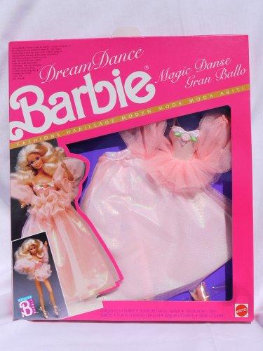 バービー バービー人形 着せ替え 衣装 ドレス 7394 【送料無料】Barbie Dream Dance Magic Dance Peach-Colored Fashion #7394 (European Market 1989)バービー バービー人形 着せ替え 衣装 ドレス 7394