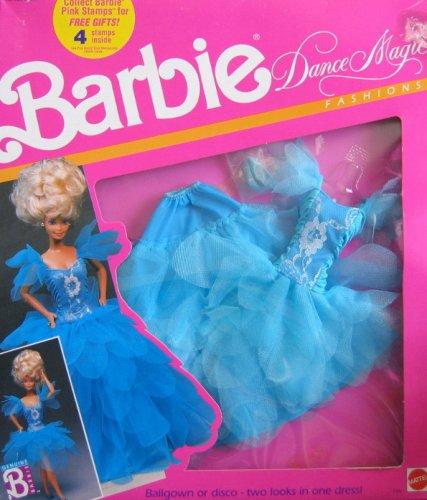 バービー バービー人形 着せ替え 衣装 ドレス 7392 Barbie Dance Magic Fashions - Ballroom to Disco 2 Looks In 1 (Blue 1989)バービー バービー人形 着せ替え 衣装 ドレス 7392