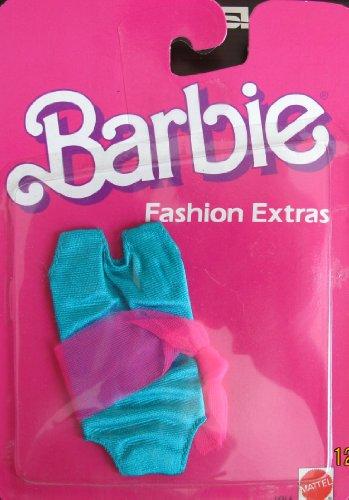 バービー バービー人形 着せ替え 衣装 ドレス 9866 Barbie Fashion Extras - BATHING SUIT Swim Suit (1984)バービー バービー人形 着せ替え 衣装 ドレス 9866